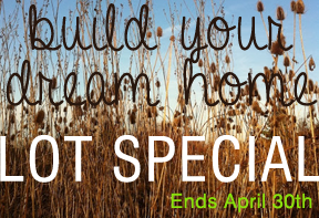 Lot Special Ends April 30th