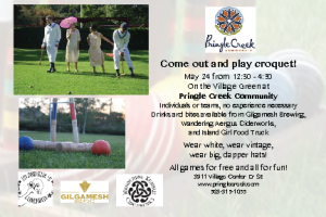 Croquet Play Day! @ Village Green outside of Painters Hall | Salem | Oregon | United States